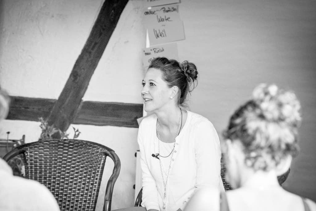 Elisabeth Kreuzer im Workshop